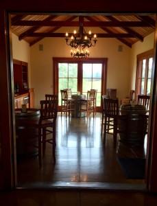 The tasting room at Benton-Lane.