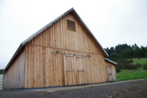 The barn that houses the winery.