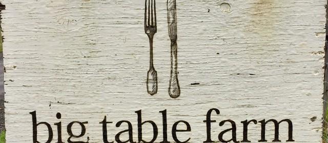 Big Table Farm: Down to Earth